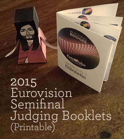 Eurovision Judging Booklets 2015